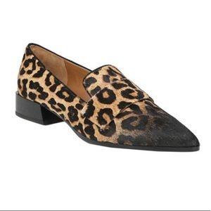 Franco Sarto Leopard Loafer